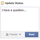Status Message Question Asking
